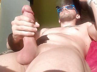 big cock, amateur, gay, masturbation, ,