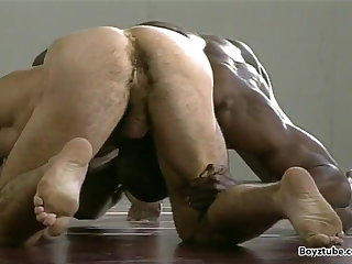 wrestling (gay), interracial (gay), , , ,