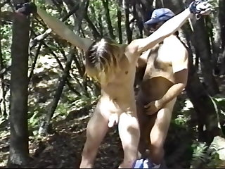 cum tribute (gay), bdsm (gay), handjob (gay), hunk (gay), masturbation (gay), outdoor (gay)