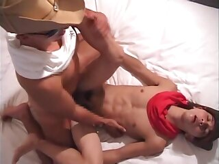 cowboy, japanese, in, the, hotel,