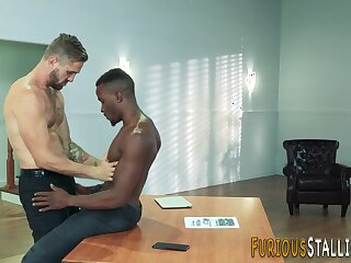 stud, hung, fucks, black, ass, film