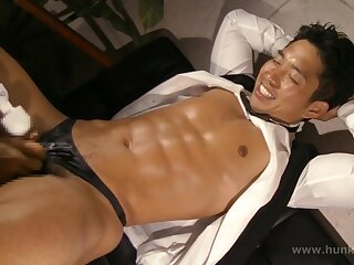 stud, hot, receives, happy, ending, asian