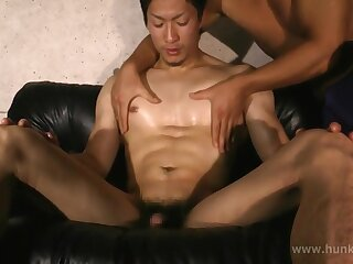 gay, japan, video, asian, brunette, cumshot